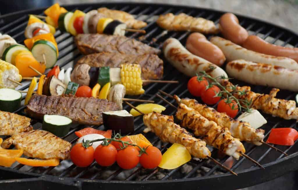 BBQ party menu ideas for large groups
